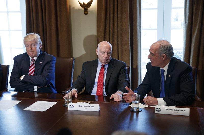 Donald Trump, Kevin Brady, Bob Casey