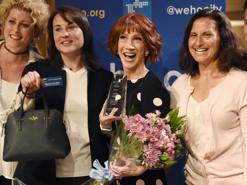 Kathy Griffin, Susan La Vaccare, Megan Cotanch