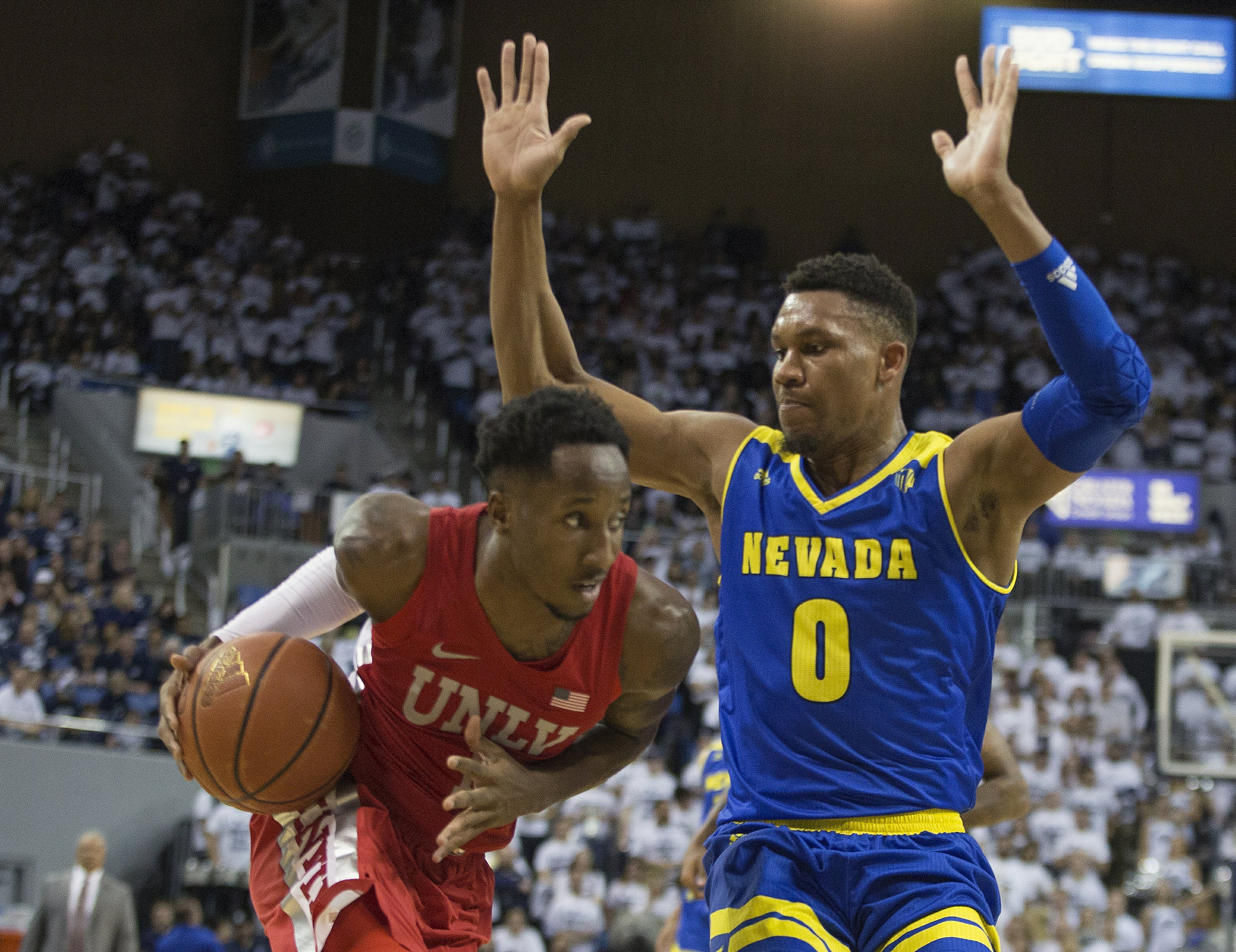No  12 Nevada beats in-state rival UNLV 89-73