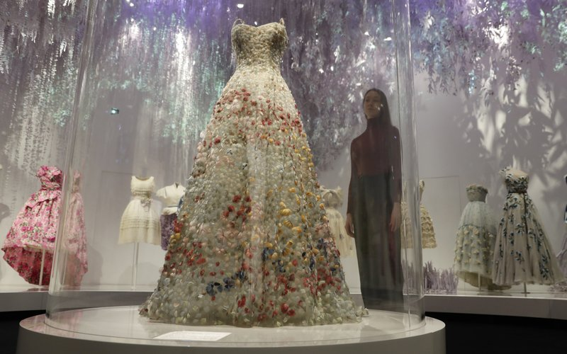 cad86b032c6 Ball gowns galore  London s V A Museum stages new Dior show