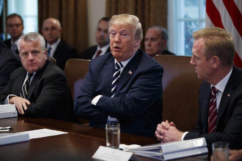 Donald Trump, John Sullivan, Patrick Shanahan
