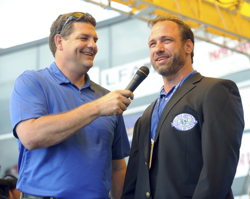 Chris Spielman, Mike Golic