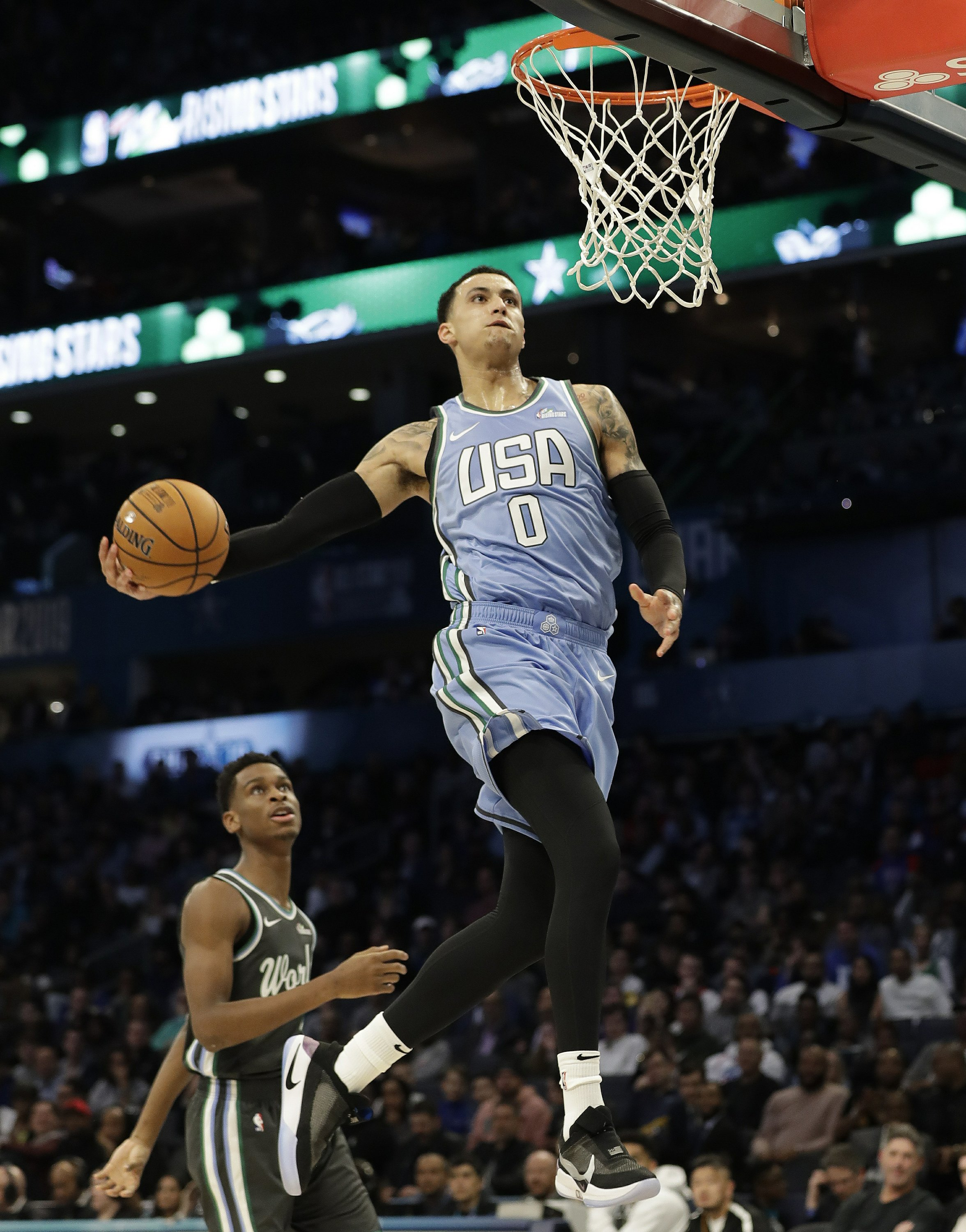 5591893370f The Latest  US tops World in Rising Stars game