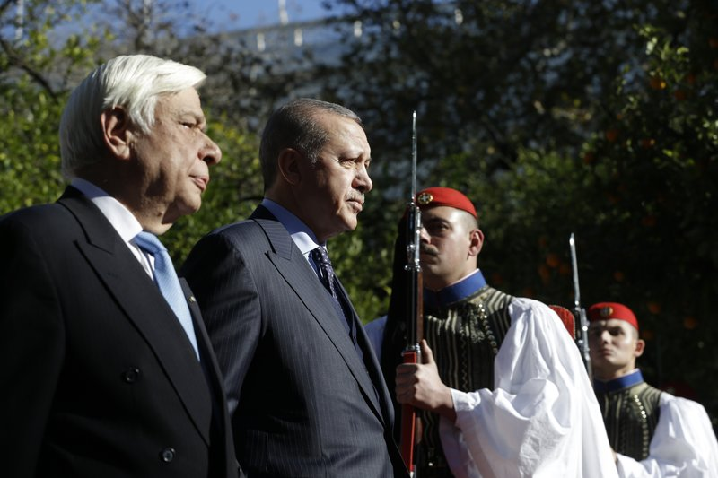 Prokopis Pavlopoulos, Recep Tayyip Erdogan