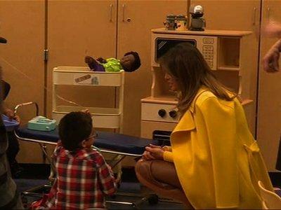 First Lady Visits Cincinnati Children's Hospital