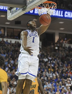 c0328d6ebdd0 TIPPING OFF  Zion back for Duke rematch with Virginia Tech
