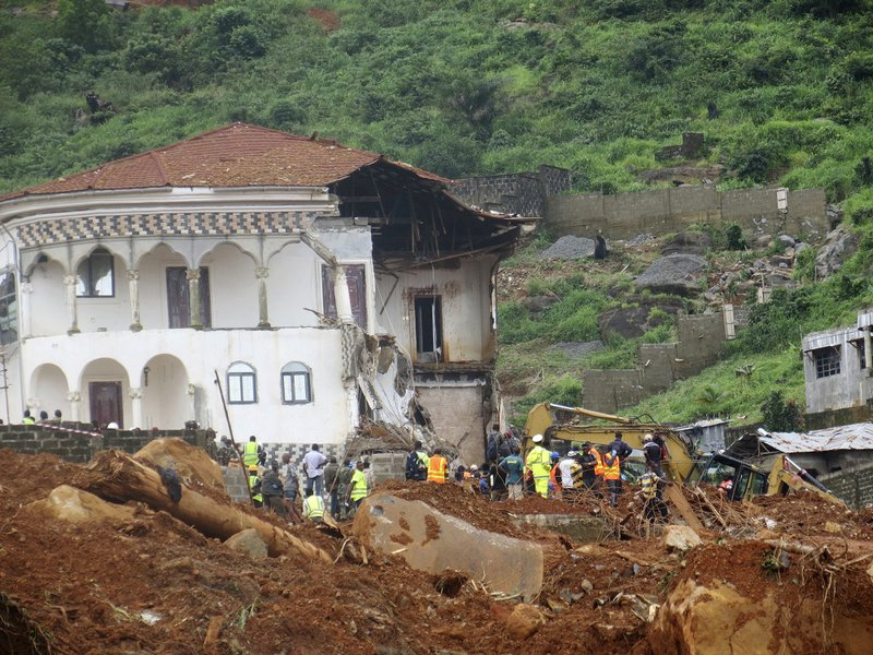 Image result for Sierra Leone: At Least 400 Dead, 600 Missing As Week Of Mourning For Mudslide Victims Begins