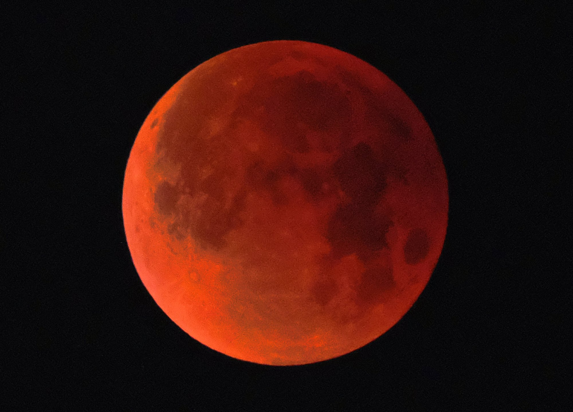 Lunar showstopper: Super blue blood moon awes and wows