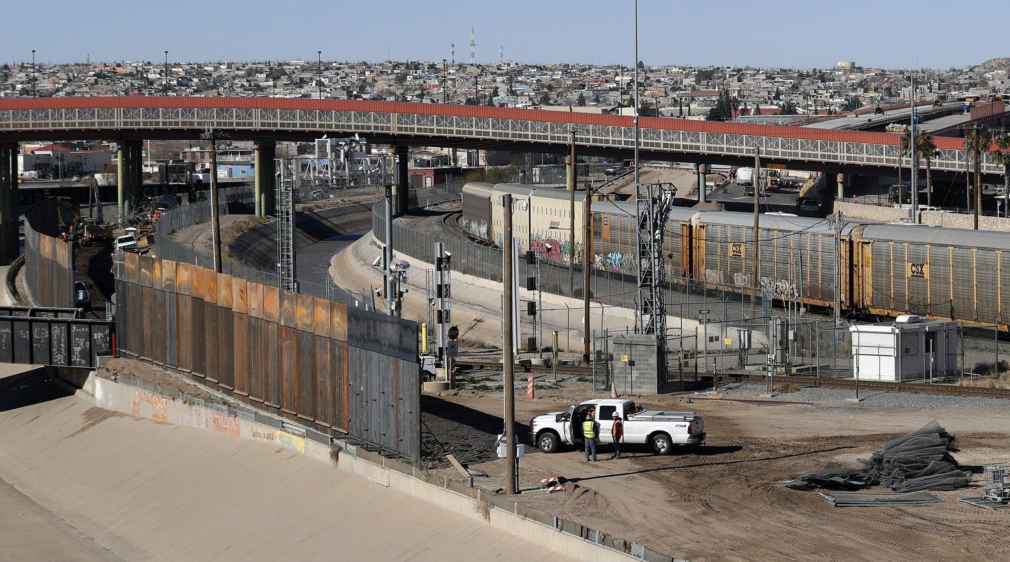 El Paso está renuente a ser símbolo del muro fronterizo