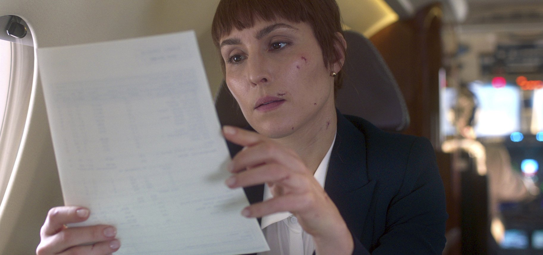 Noomi Rapace explores the female bodyguard life in 'Close' - Associated Press thumbnail