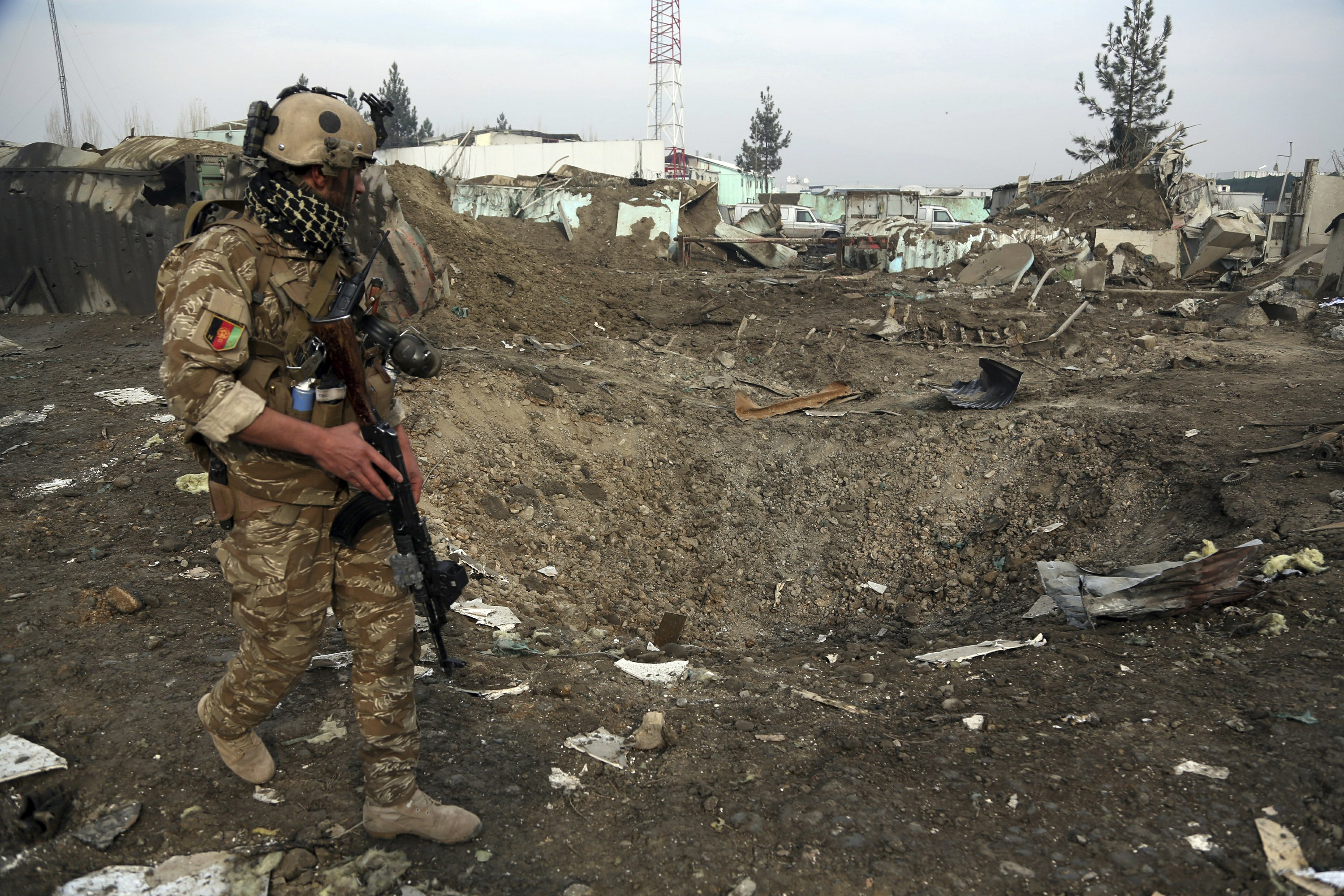 Report: Afghan forces still shrinking, security gaps growing
