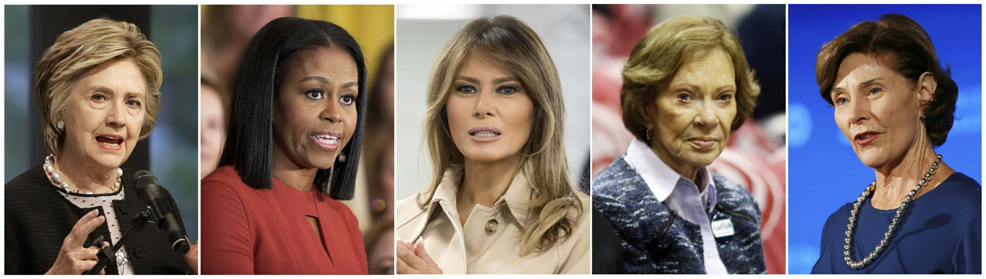 All 5 first ladies speak out on family separations at border