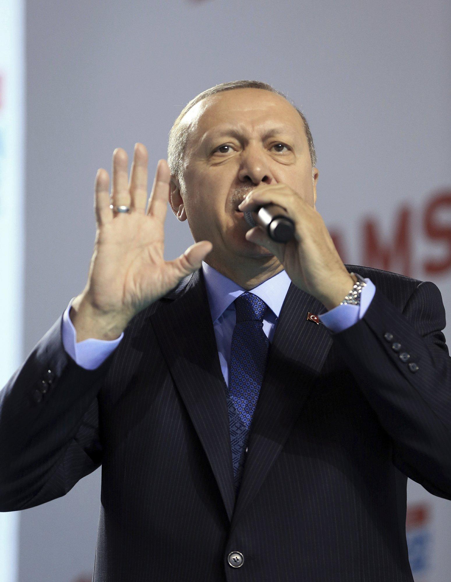 Turkish President Erdogan announced his desire to overthrow Bashar Assad 11/29/2016
