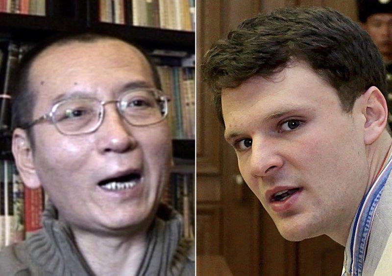 Otto Warmbier  Liu Xiaobo