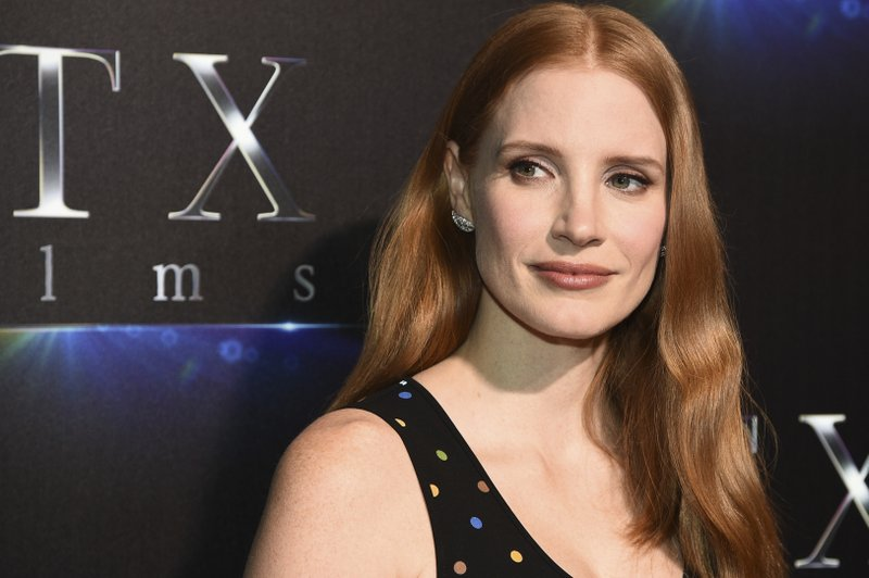 Jessica Chastain, STX Films' 'The State of the Industry: Past, Present and Future' presentation
