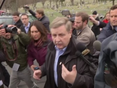Republican Rick Saccone Votes in Pennsylvania