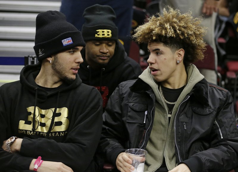 LiAngelo Ball, LaMelo Ball