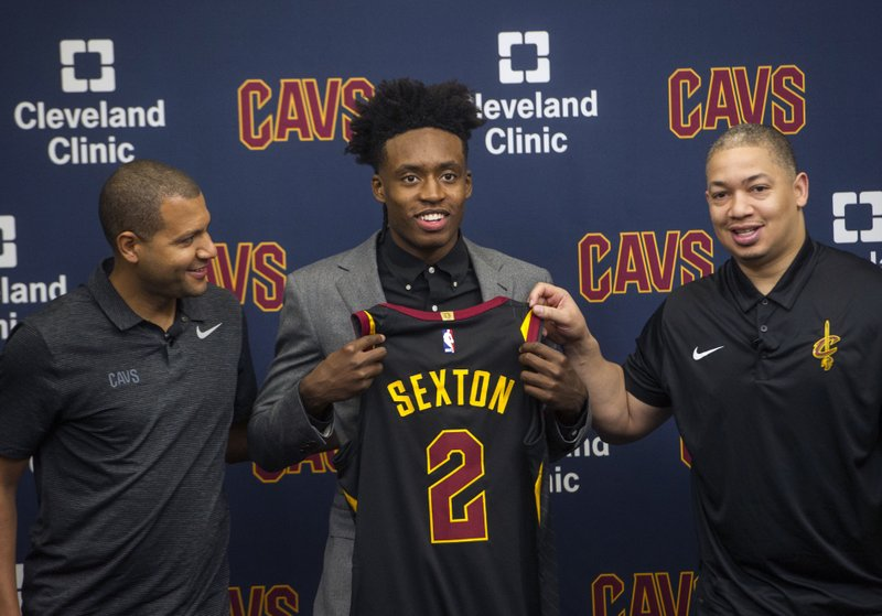 cheaper 038f7 23735 Take 2: Sexton to wear Irving's jersey number with Cavaliers