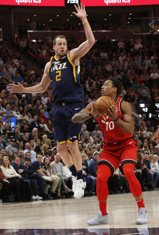 Joe Ingles, DeMar DeRozan