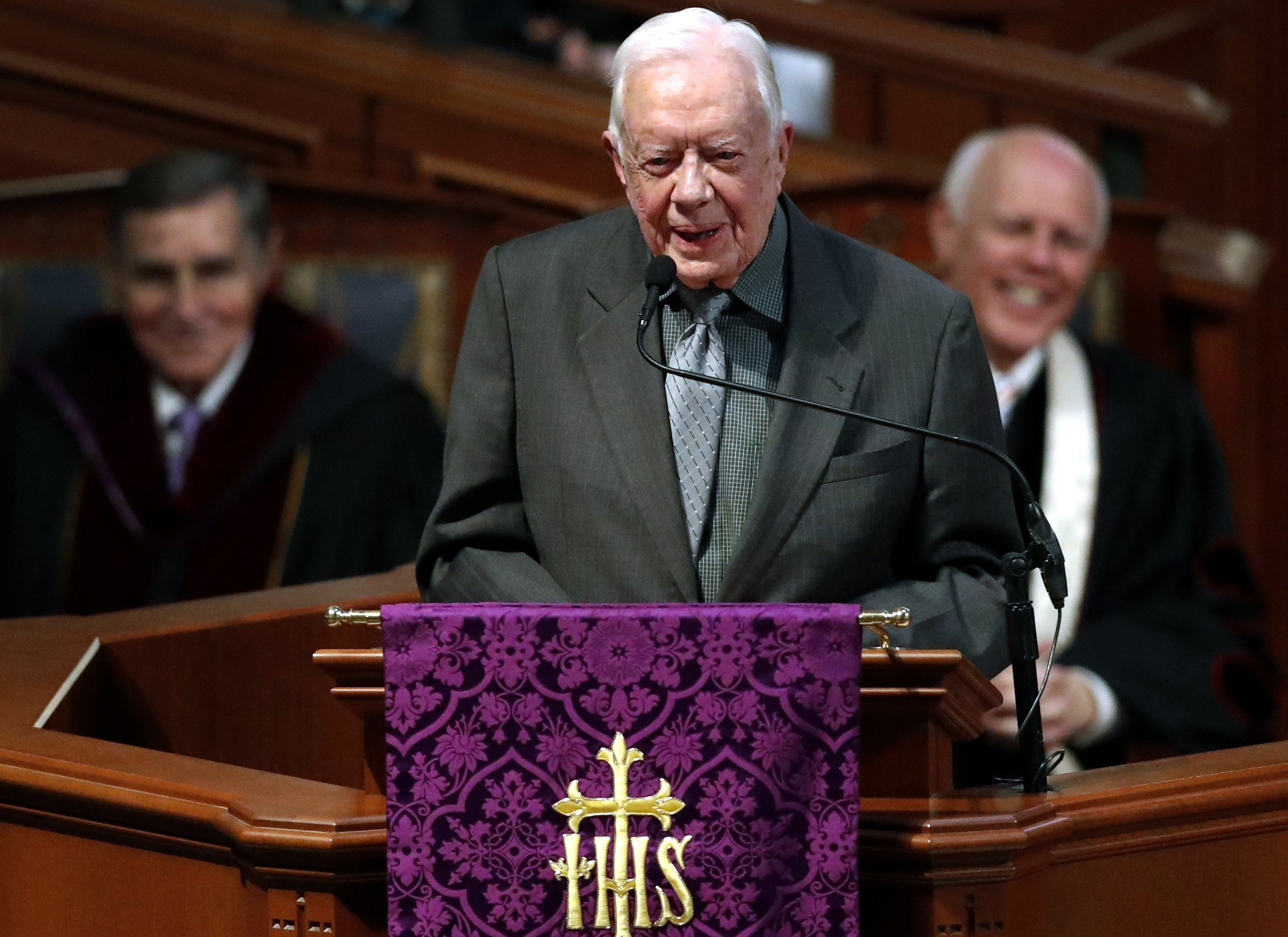 Then and now: World transformed over Jimmy Carter's 94 years