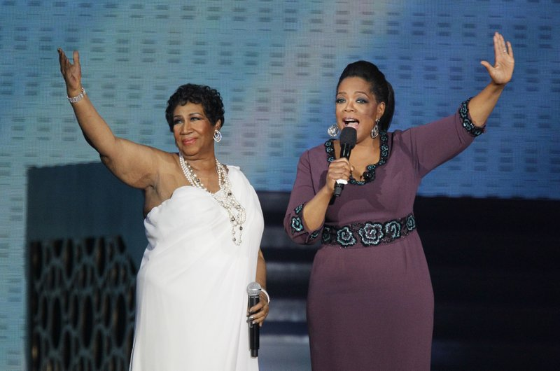 Aretha Franklin, Oprah Winfrey