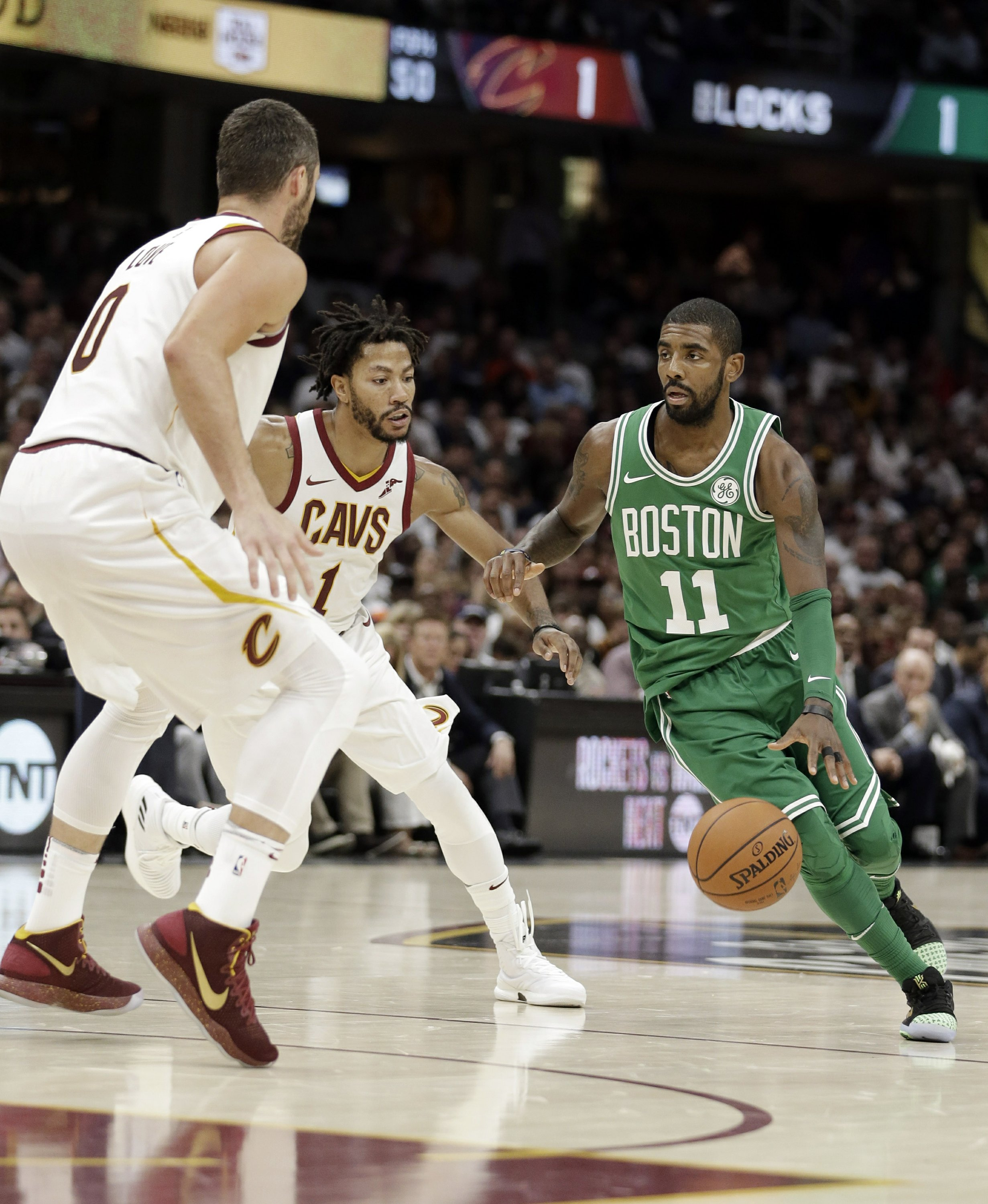 low priced 2f297 8d9c6 Cavs-Celtics game second most-watched opener on TNT