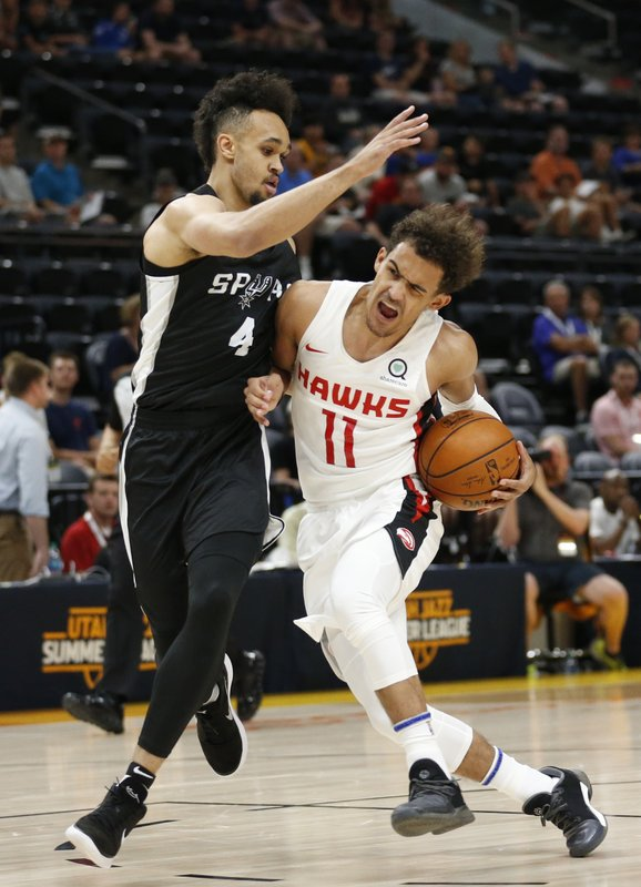 Derrick White, Trae Young
