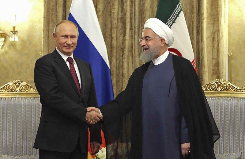 Hassan Rouhan, Vladimir Putin