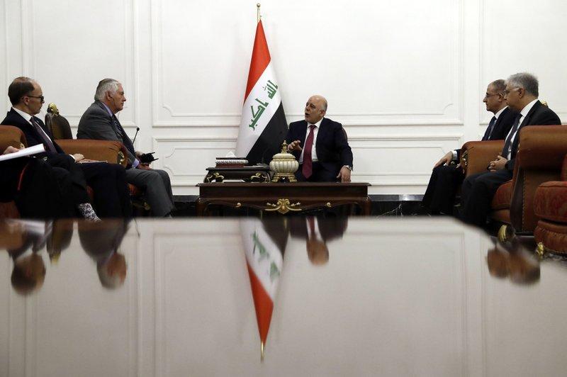 Rex Tillerson, Haider al-Abadi