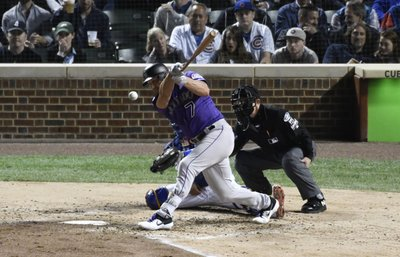 2babf32a DENVER (AP) — Rockies left fielder Matt Holliday returned to the starting  lineup for Game 3 of the NL Division Series against Milwaukee.