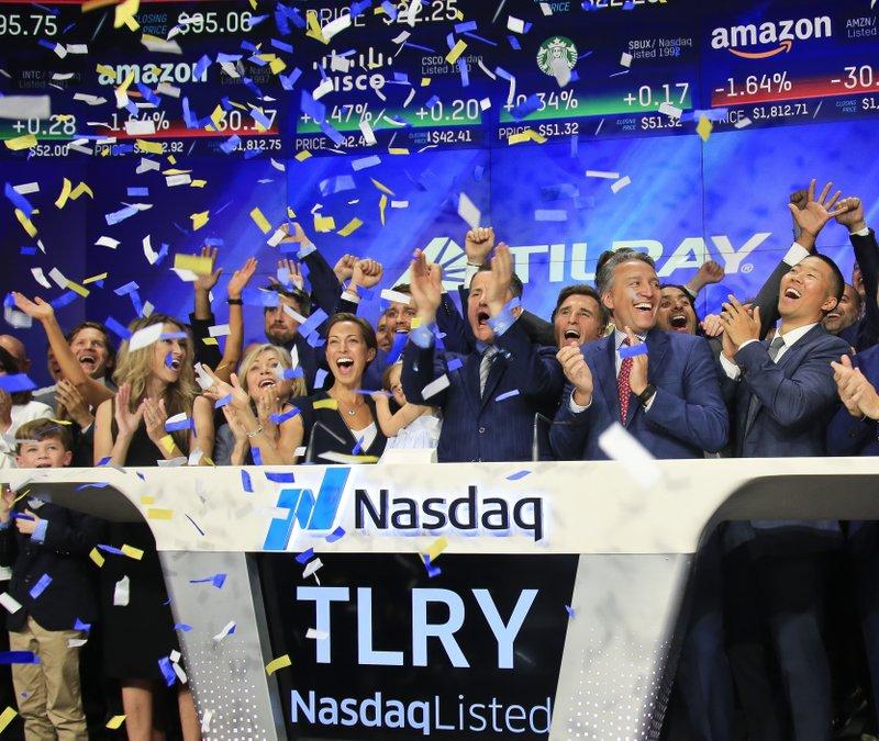 It's high times for soaring marijuana stocks on Wall Street