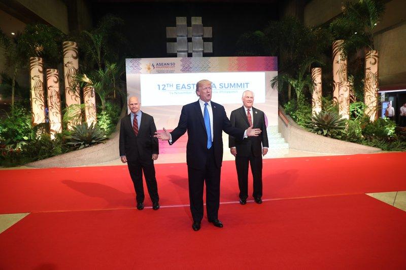 Donald Trump, H.R. McMaster, Rex Tillerson