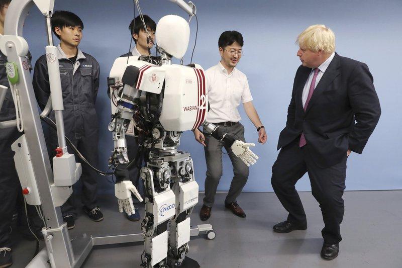 Boris Johnson, Kenji Hashimoto