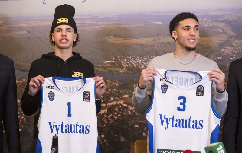 size 40 61e0a 156d1 Finally on court in Lithuania, Ball brothers eager to play