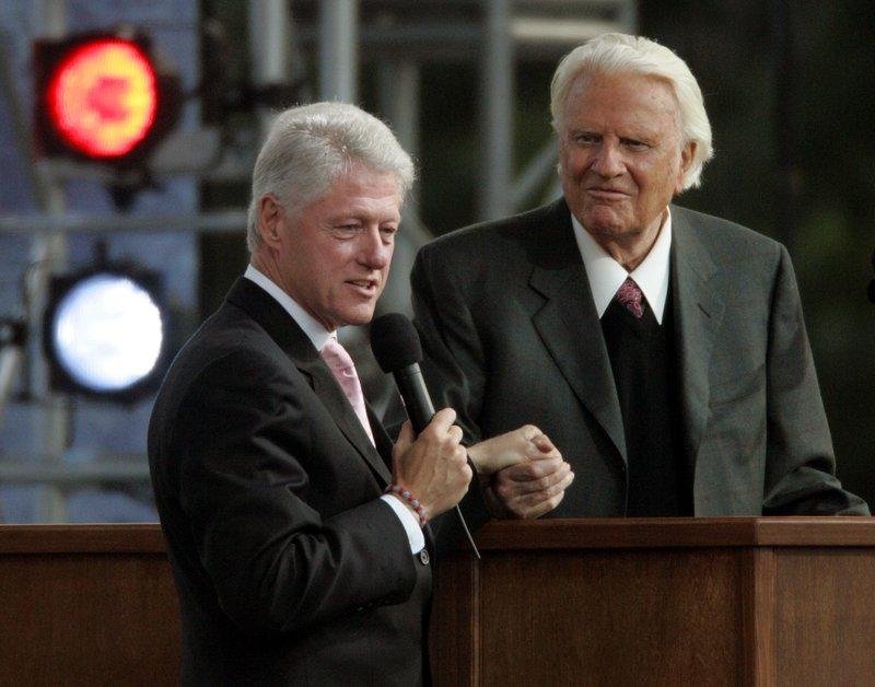 Billy Graham, Bill Clinton