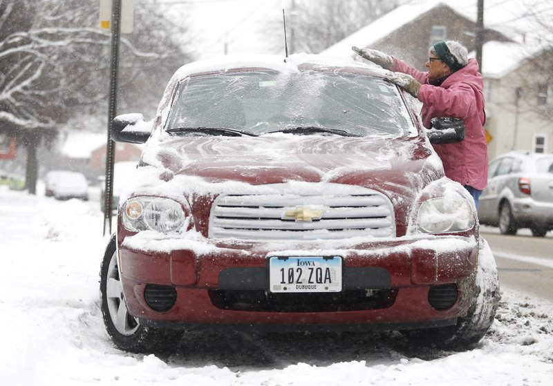 IOWA DAILY LIFE - WINTER WEATHER