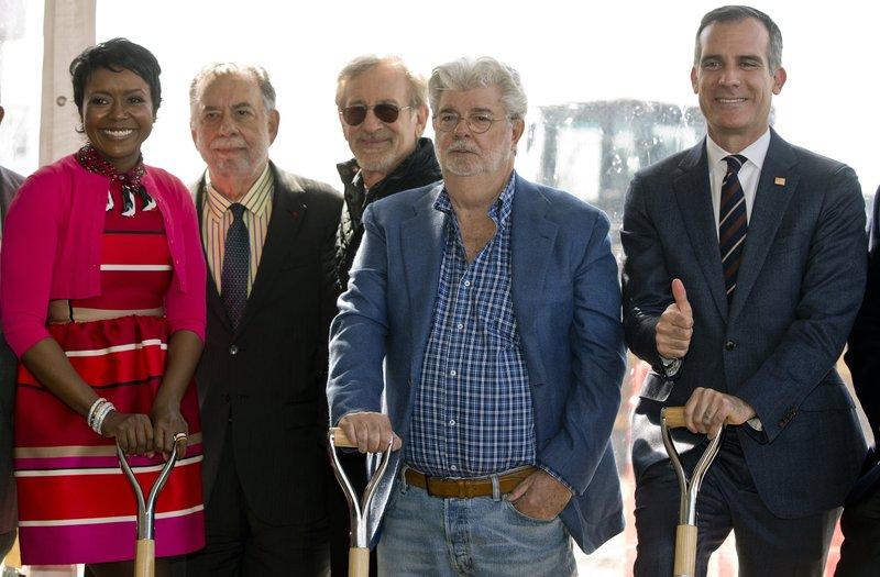 Mellody Hobson, Francis Ford Coppola, Steven Spielberg, George Lucas, Eric Garcetti
