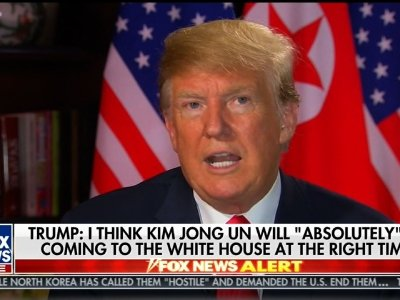 Trump: 'Got Along Very Well' With Kim Jong Un