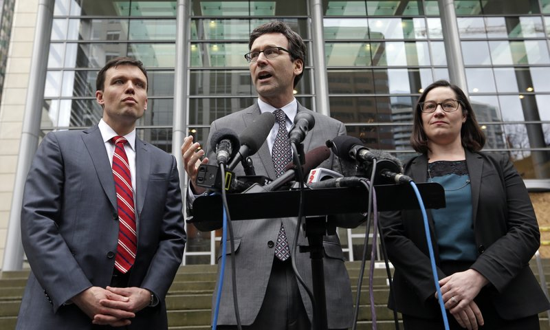 Bob Ferguson, Noah Purcell, Colleen Melody