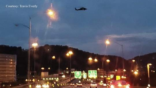 Monday wasn't first sighting of military choppers over Pittsburgh
