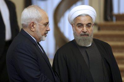 Hassan Rouhani, Mohammad Javad Zarif