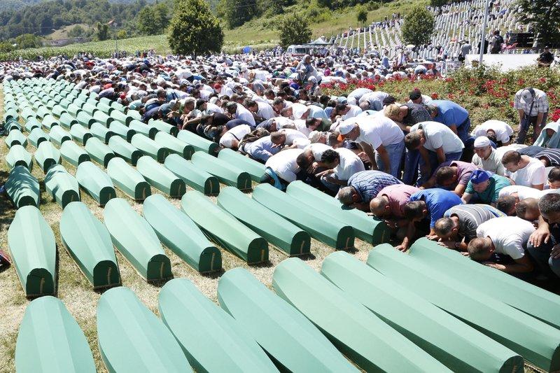 Bosnia Srebrenica 21 anniversary