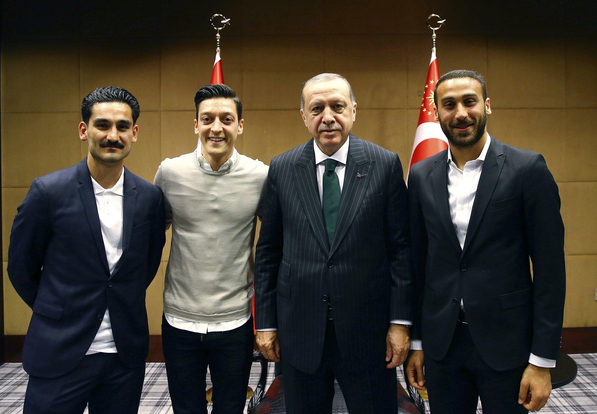 Erdogan A Battleground In Germany Turkey Soccer Vote