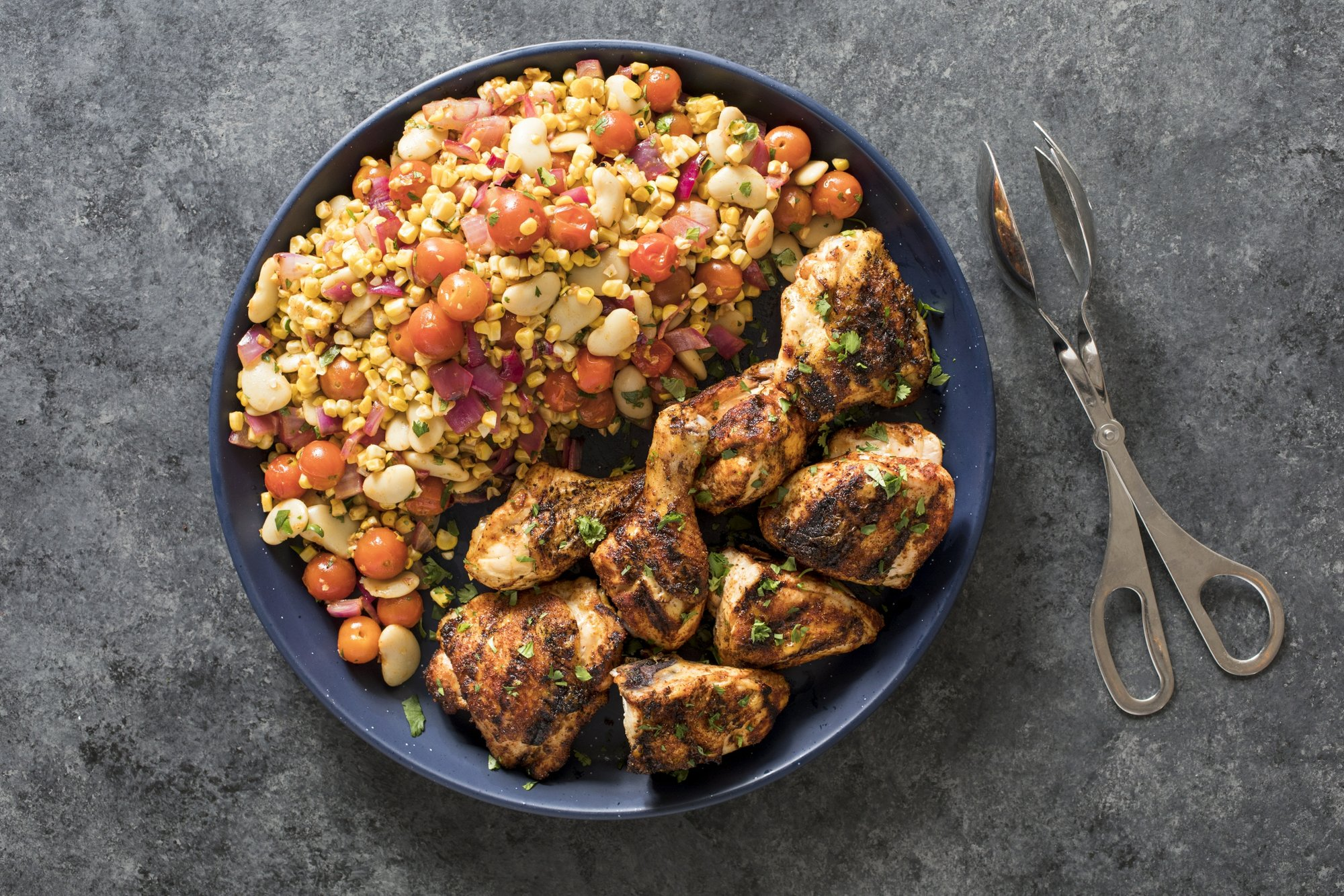 Beau Use The Cooler Side Of The Grill For This Cool Chicken Dish