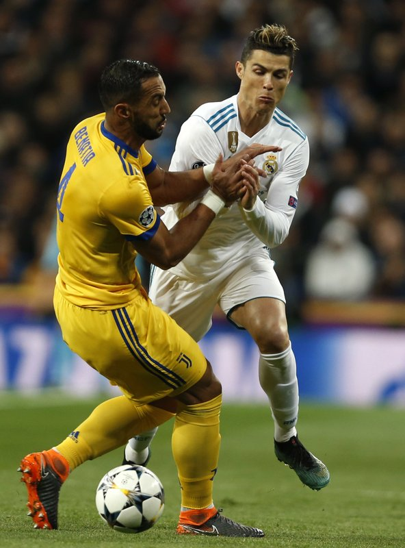 Cristiano Ronaldo , Medhi Benatia