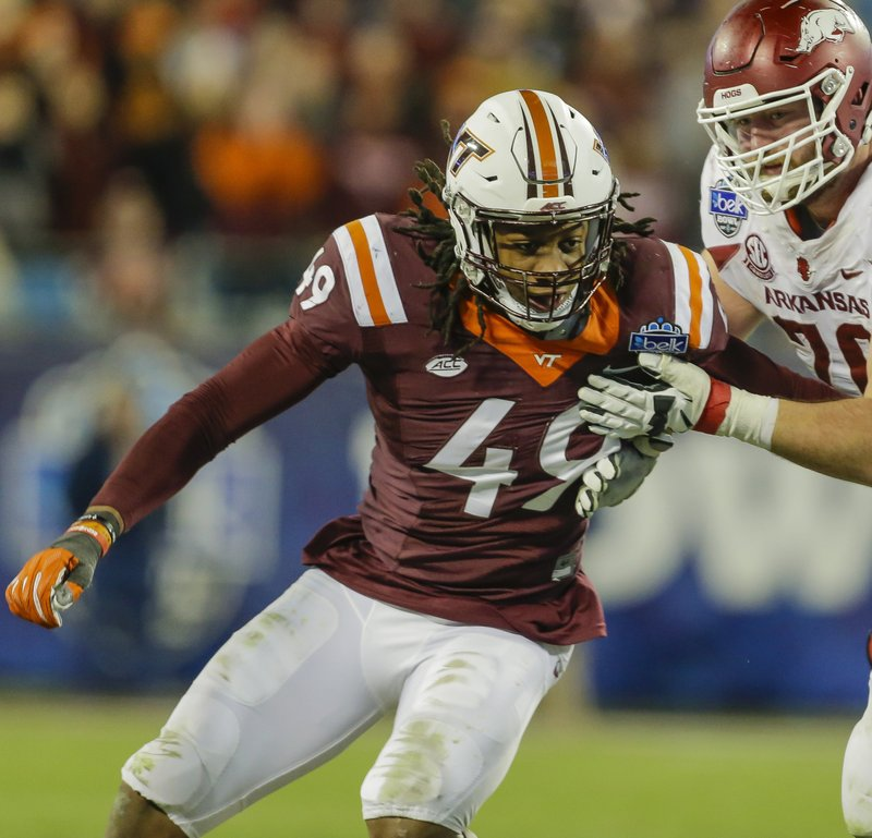 online store 161ee 623fc Family affair: Terrell, Tremaine Edmunds key to Hokies' 'D'