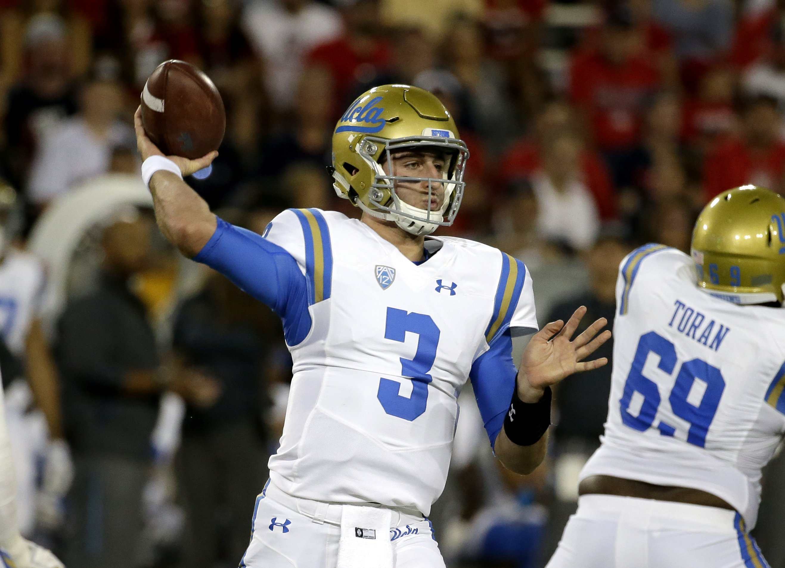 new product d44cc a9504 Turnovers troubling Josh Rosen, UCLA's offense