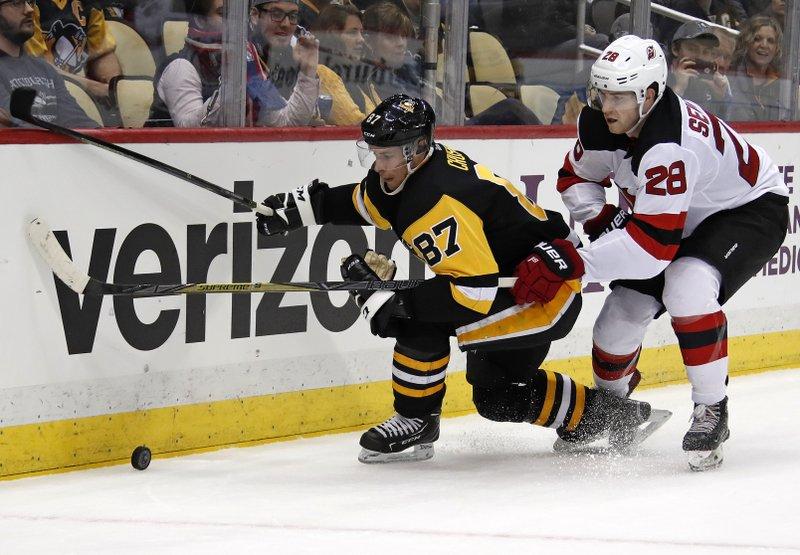 Sidney Crosby, Damon Severson