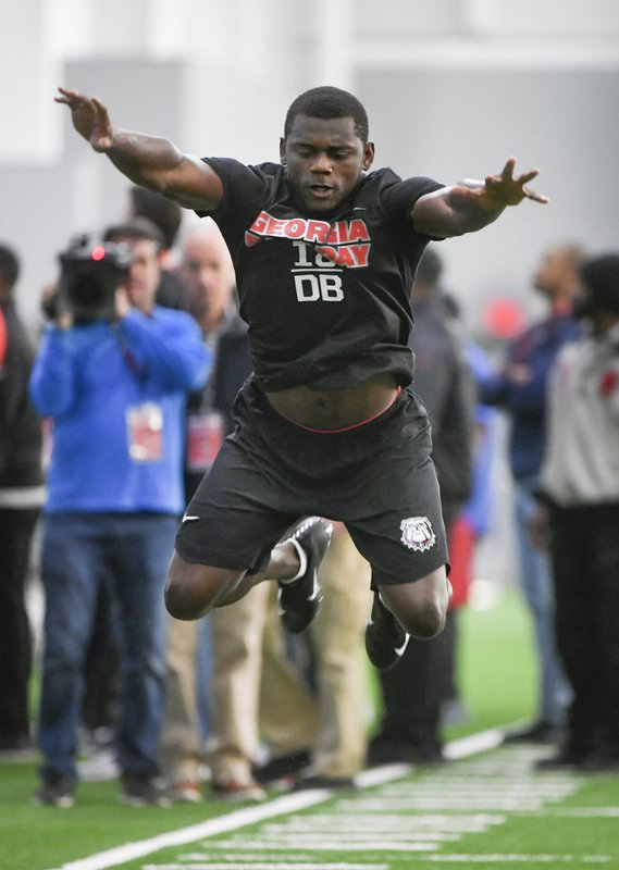 Georgias Deandre Baker Says Hes The Top CB In NFL Draft