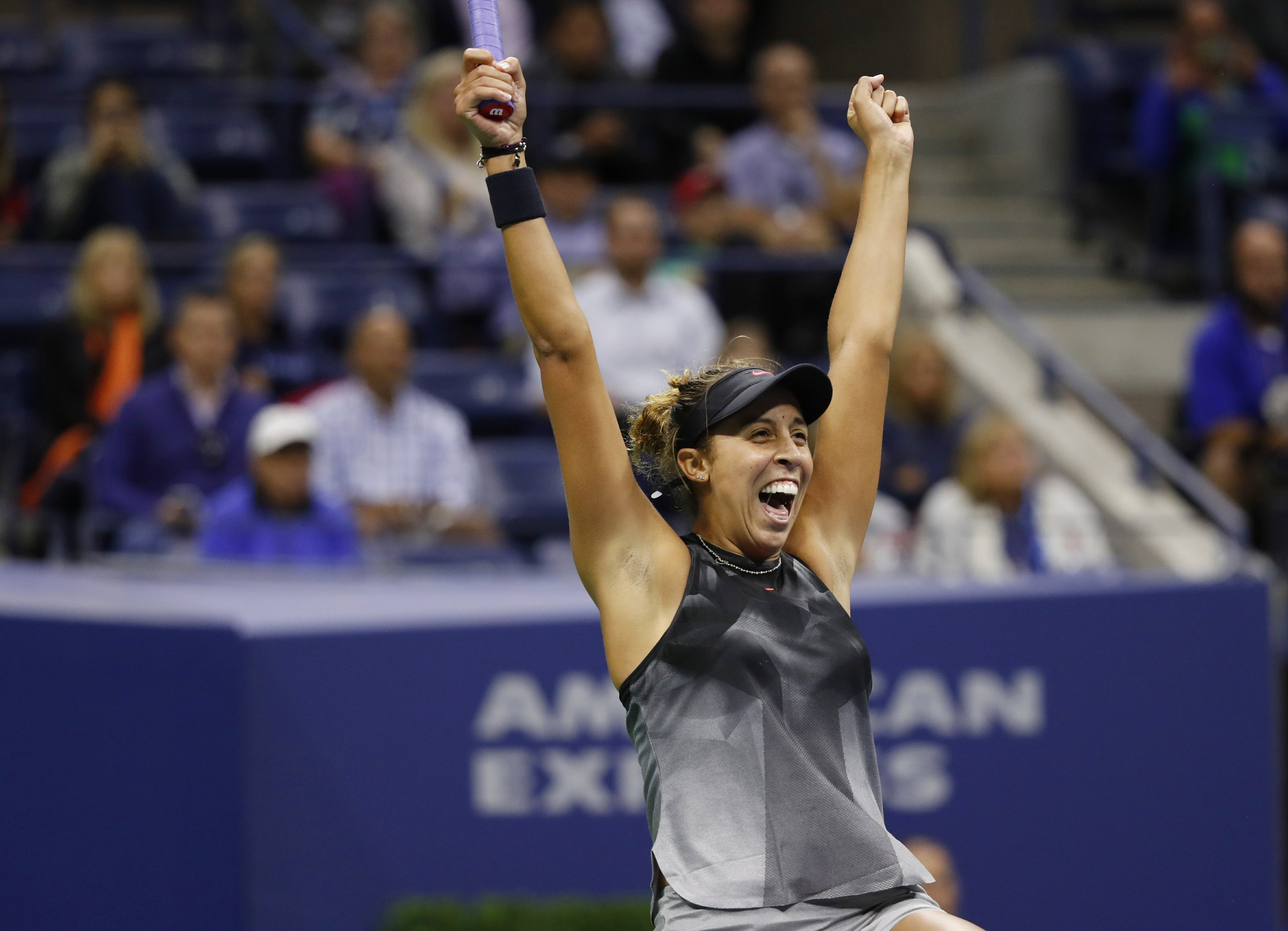 Stephens tops Williams; faces Keys in all-American US Open F